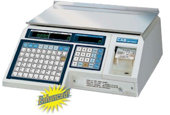 CAS Label Printing Scale