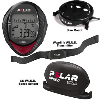 Polar CS600 & CS600-POWER Cycling Computer - Heart Rate Monitor